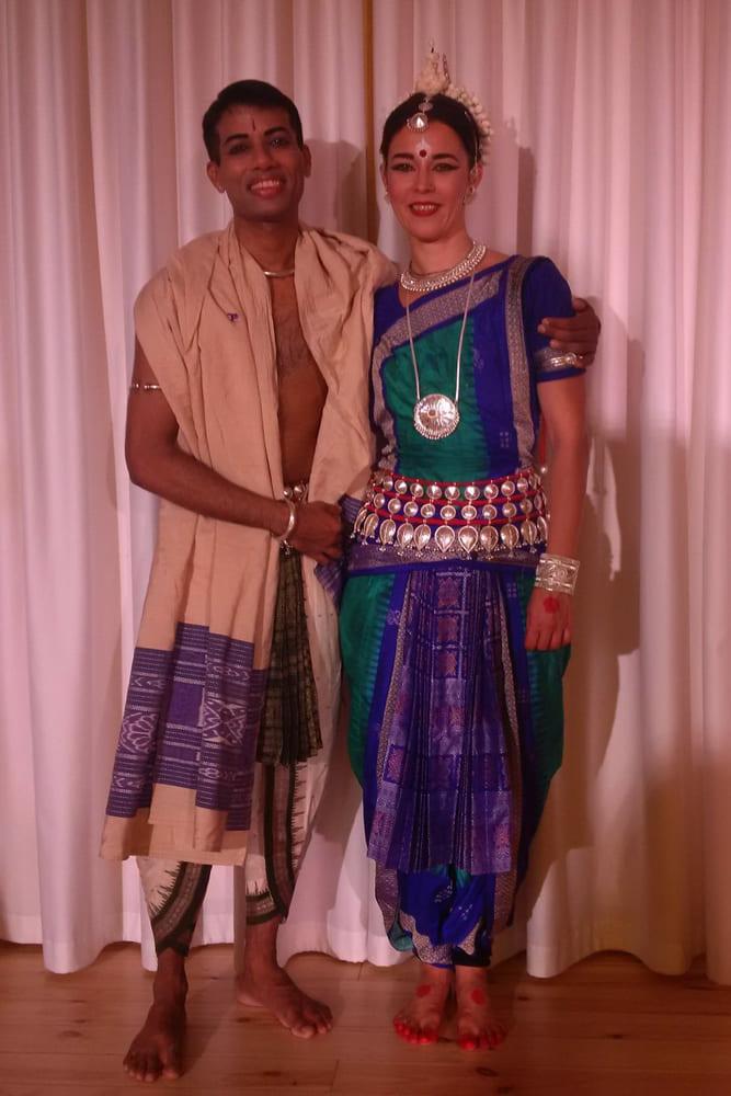 Virag mesterével, Rahul Acharya-val